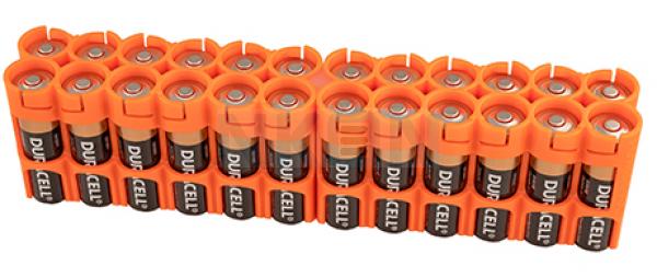 Suporte de pilhas 24 AA Powerpax Battery