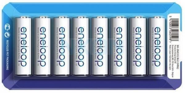 8 Eneloop AA - Embalagem deslizante - 1900mAh