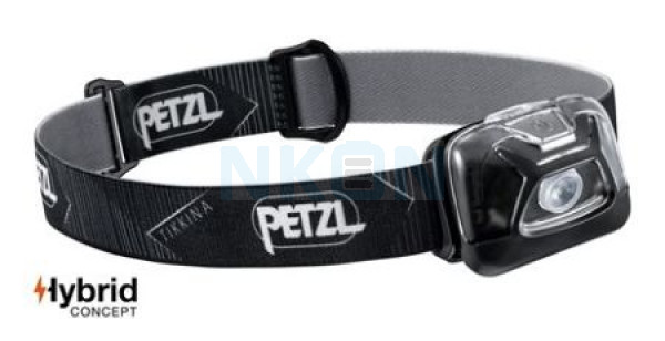 Petzl Tikkina Lâmpada Principal Preta - 250 Lumen