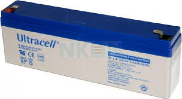Ultracell 12V 2.4Ah Bateria chumbo-ácido