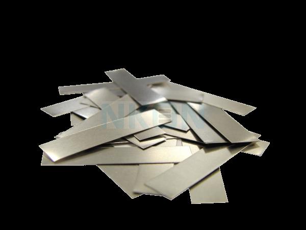 Tira de soldar de níquel - recortada - 7mm*0.20mm
