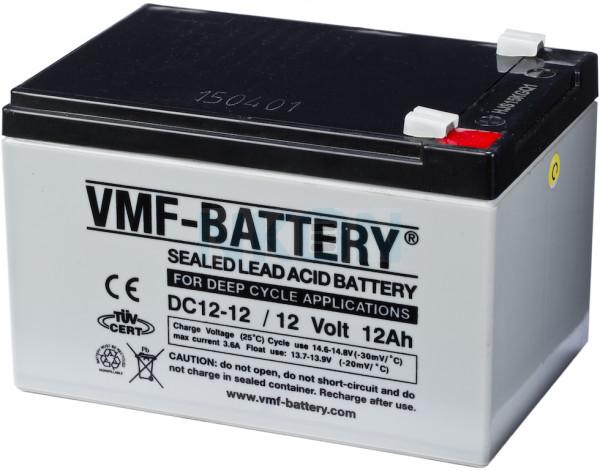 Deep Cycle VMF 12V 12Ah Bateria chumbo-ácido
