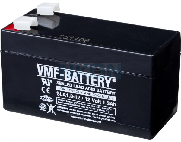 VMF 12V 1.3Ah Bateria chumbo-ácido