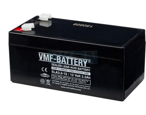VMF 12V 3.2Ah Bateria chumbo-ácido