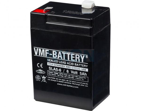 VMF 6V 5A Bateria chumbo-ácido