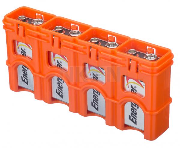 Caixa para 4 pilhas de 9V da Powerpax