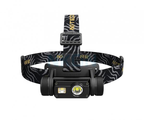 Lanterna com suporte para cabeça Nitecore HC65 - Recarregável por USB