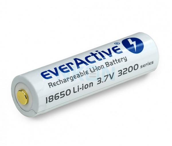 EverActive micro USB 18650 3200mAh (protegido) - 7A