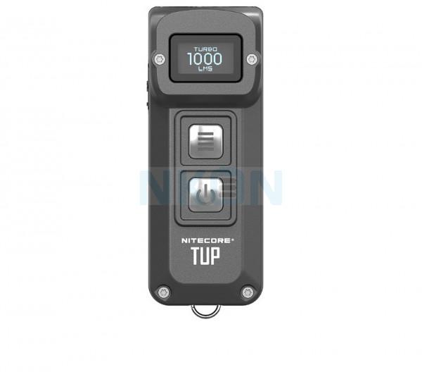 Chaveiro Nitecore TUP - EDC Recarregável - Lâmpada de 1000 lúmens - Cinza