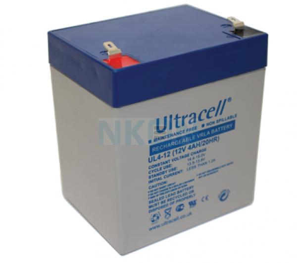 Ultracell 12V 4Ah Bateria chumbo-ácido