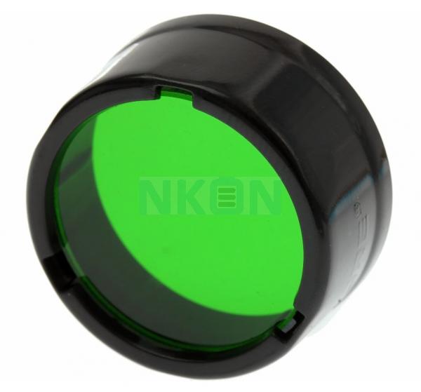 Filtro Nitecore - Difusor 25,4 mm - Verde