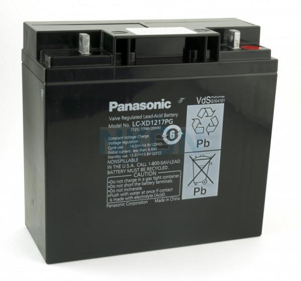 Panasonic 12V 17Ah Bateria chumbo-ácido