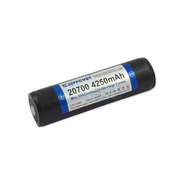 Keeppower 20700 4250mAh (protegido) - 15A