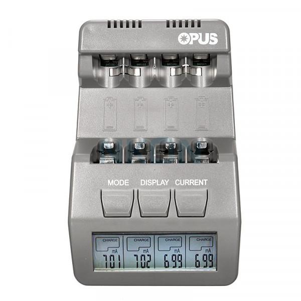 Opus BT-C700 carregador de pilhas