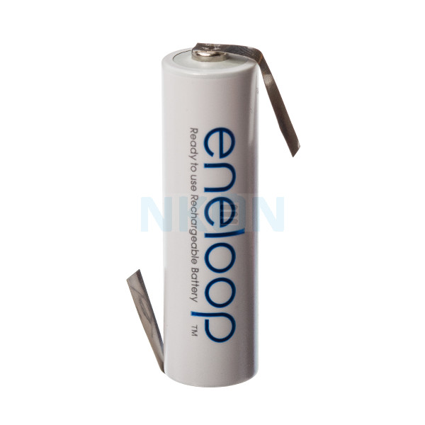 1 AAA Eneloop com lábio-Z - 750mAh