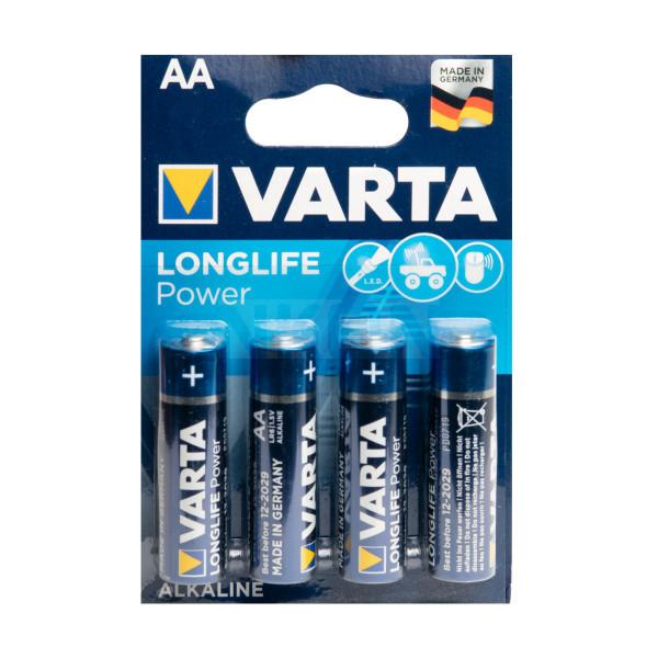 4x AA Varta Longlife Power - 1.5V
