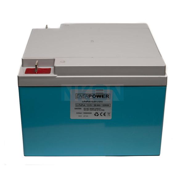 Enerpower 12.8V 25.6Ah - LiFePo4 (substituição da bateria chumbo-ácido)