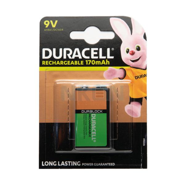 Recarga Duracell 9V Ultra - blister