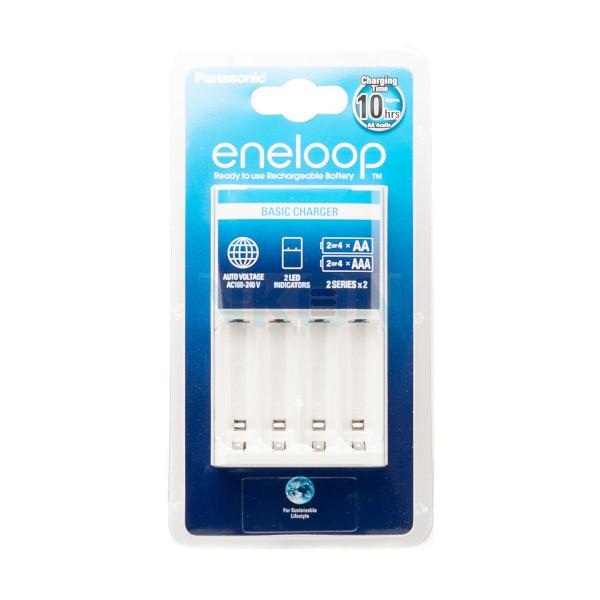 Carregador de bateria Panasonic Eneloop BQ-CC51 (sem baterias)