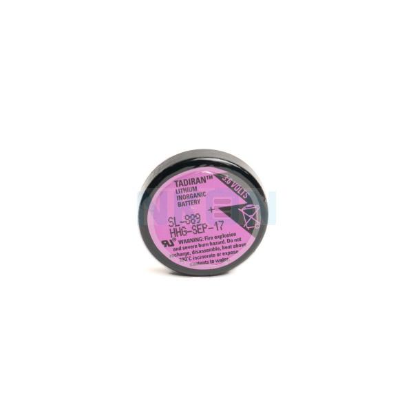 Bateria de lítio Tadiran SL-889 / 1/10 D com 3 pinos de solda