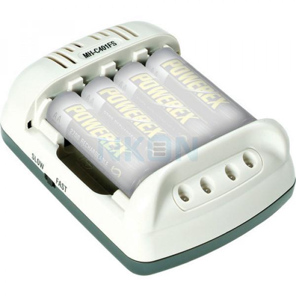 Maha powerex MH-C401FS Carregador de bateria