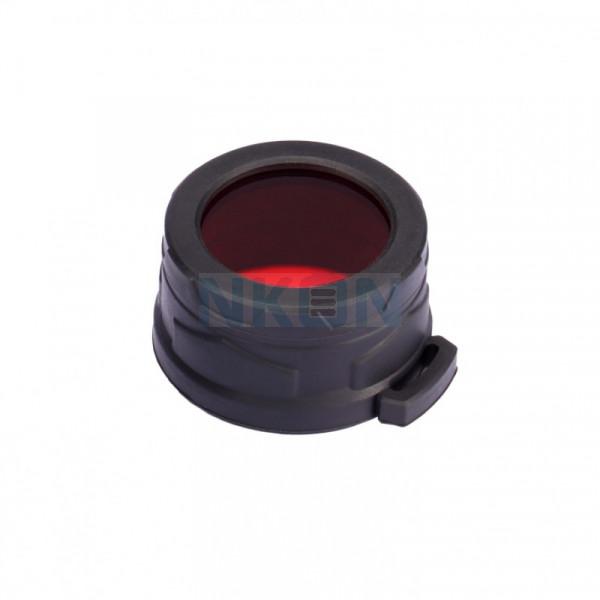 Nitecore NFR40 vermelho Filtro