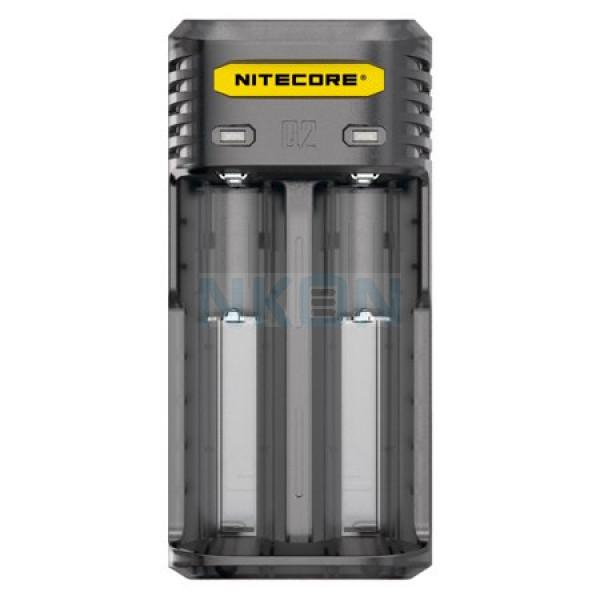 Nitecore Q2 carregador de bateria - blackberry