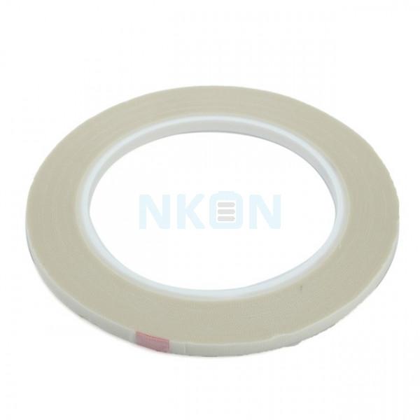 Fita adesiva de resistência de alta temperatura até 100 ° C - Branca