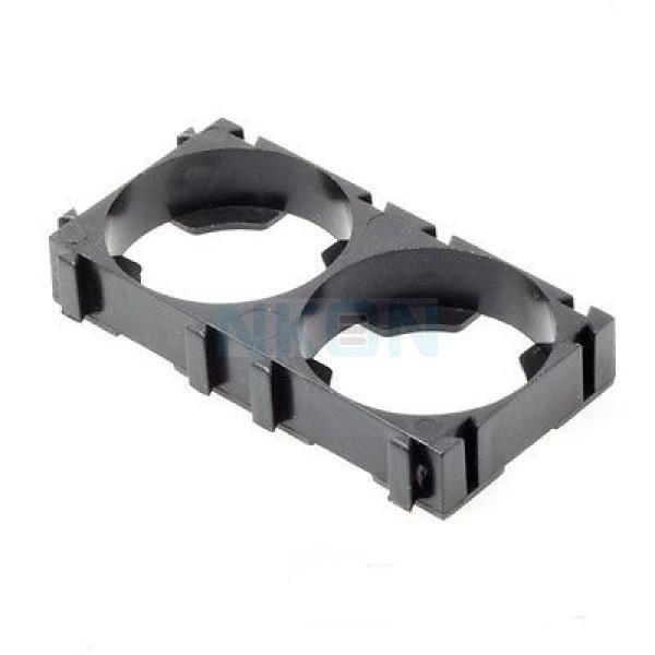 2 x 26650 suporte do espaçador da pilhas