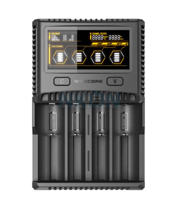 Nitecore SC4 carregador de bateria
