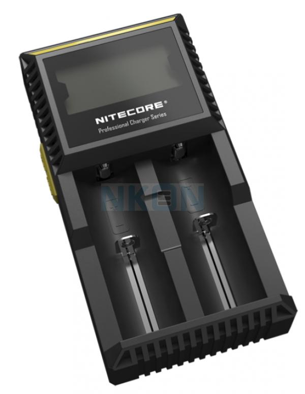 Nitecore Digicharger D2 EU carregador de bateria