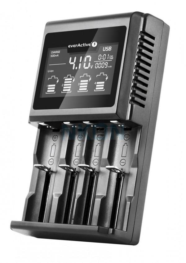 EverActive UC4000 carregador de bateria