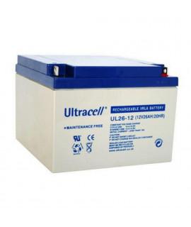 Ultracell 12V 26Ah Bateria de chumbo