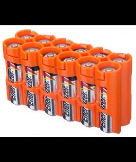 Caixa da Powerpax para 12 pilhas AA