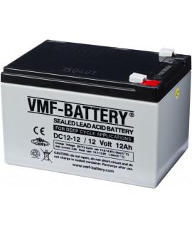 Gel de ciclo profundo VMF 12V 12Ah Bateria de chumbo
