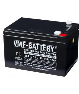 VMF 12V 12Ah bateria acidificada ao chumbo