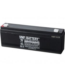 VMF 12V 2.3Ah Bateria de chumbo