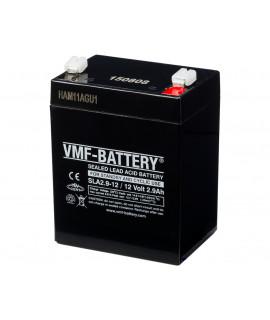 VMF 12V 2.9Ah bateria acidificada ao chumbo