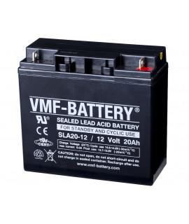 VMF 12V 20Ah bateria acidificada ao chumbo