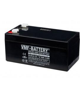 VMF 12V 3.2Ah bateria acidificada ao chumbo