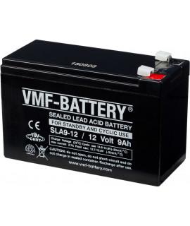 VMF 12V 9Ah bateria acidificada ao chumbo