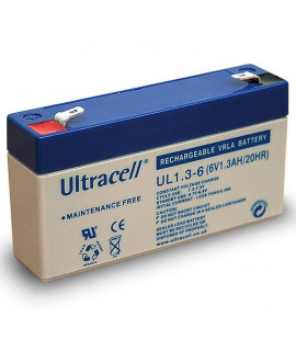 Ultracell 6V 1.3Ah Bateria de chumbo