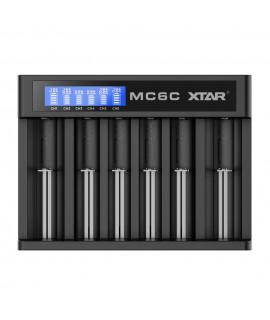 XTAR MC6C carregador de bateria