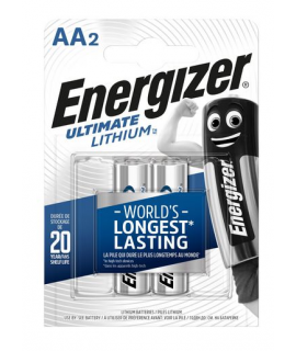 2 AA Energizer Ultimate Lithium L91 - 1.5V