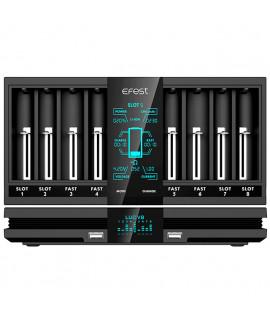 Carregador de bateria Efest LUC V8