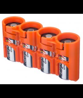 Caixa para 4 pilhas CR123A da Powerpax