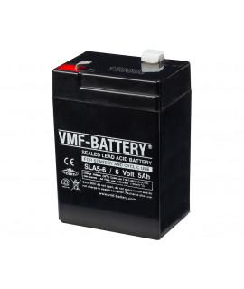 VMF 6V 5A bateria acidificada ao chumbo