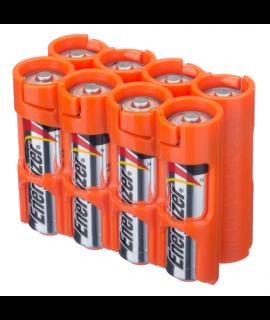 8 pilhas AA Powerpax - Laranja
