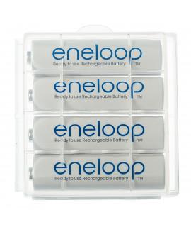 4 AA Eneloop - caixa - 1900mAh