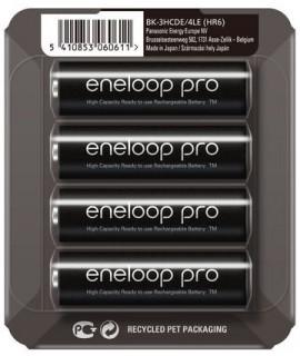 4 Eneloop AA Pro - blister deslizante - 2500mAh